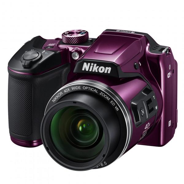 Nikon Coolpix B500 Kamera pflaume-37