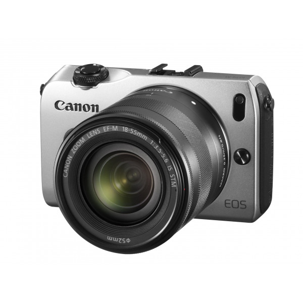 Canon EOS M kompakte Systemkamera (18 Megapixel, 7,6 cm (3 Zoll) Display, Full HD, Touch-Display) Kit inkl. EF-M 18-55mm 1:3,5-5,6 IS STM und Speedlite 90EX silber-310