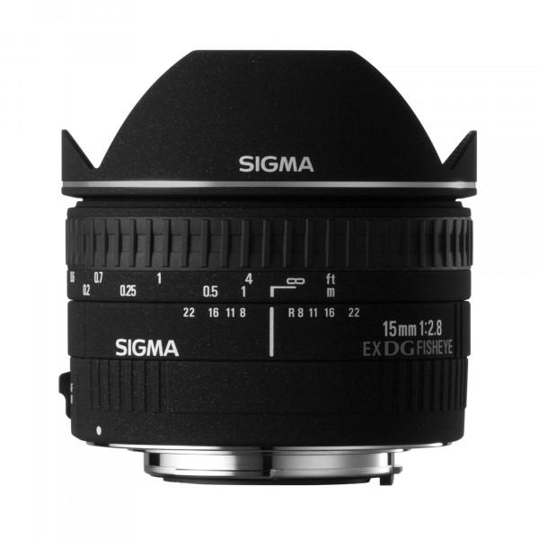 Sigma 15 mm F2,8 EX DG Diagonal Fisheye-Objektiv (58 mm Filtergewinde) für Canon Objektivbajonett-31