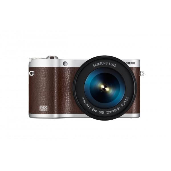 Samsung NX300 Systemkamera (8,4 cm (3,3 Zoll) OLED Touchscreen, 20,3 Megapixel, WiFi, HDMI, Full HD, SD Kartenslot) inkl. 18-55mm OIS i-Funktion Objektiv braun-38