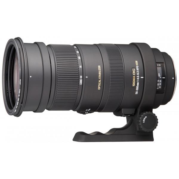 Sigma 50-500 mm F4,5-6,3 DG OS HSM-Objektiv (95 mm Filtergewinde) für Pentax Objektivbajonett-35
