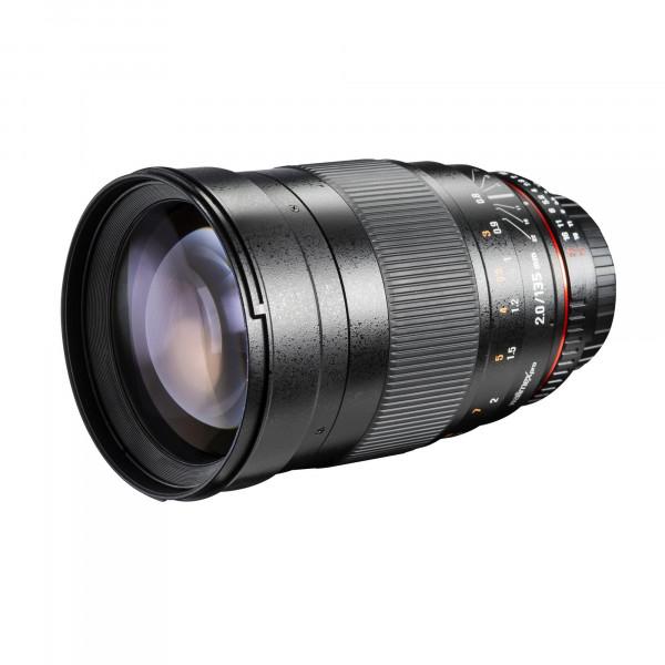 Walimex Pro 135mm f/2,0 CSC-Objektiv (Filterdurchmesser 77 mm) für Micro Four Thirds-35