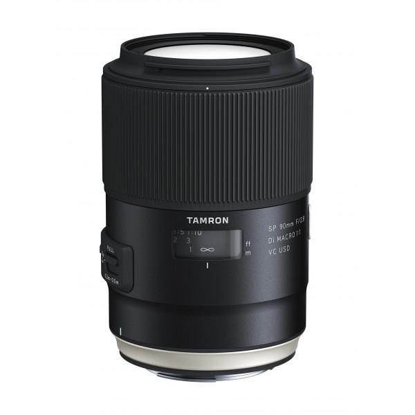 Tamron F017E SP 90 mm F/2.8 Di Macro, 1:1 VC USD Canon Kamera-Objektive-39