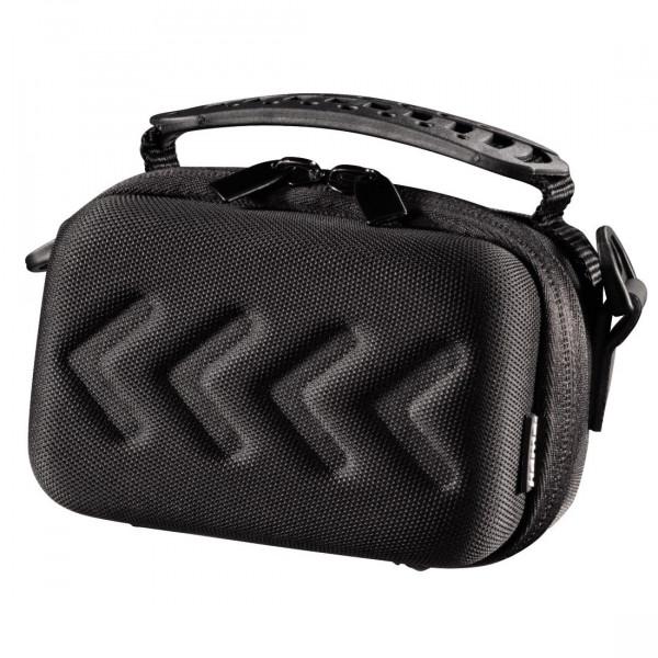 Hama Hardcase Kameratasche für eine kompakte Systemkamera/Videokamera, Hardcase Arrow 80, Schwarz-32