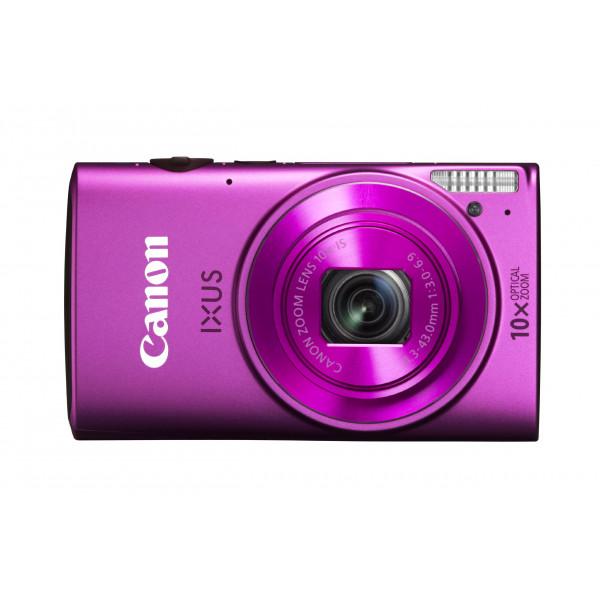 Canon IXUS 255 HS Digitalkamera (12,1 Megapixel, 10-fach opt. Zoom, 7,5 cm (3 Zoll) Display, Full-HD, bildstabilisiert) pink-36