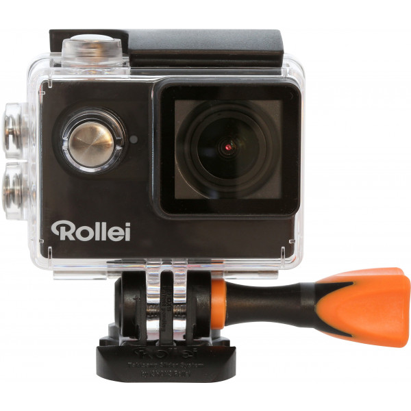 Rollei Actioncam 425 4k 2160p, Unterwassergehäuse für bis zu 40m Wassertiefe, 2.4 G Hochfrequenz-Handgelenk-Fernbedienung schwarz-314