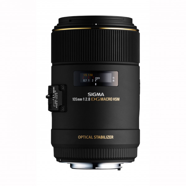 Sigma 105 mm F2,8 EX Makro DG OS HSM-Objektiv (62 mm Filtergewinde) für Canon Objektivbajonett-35