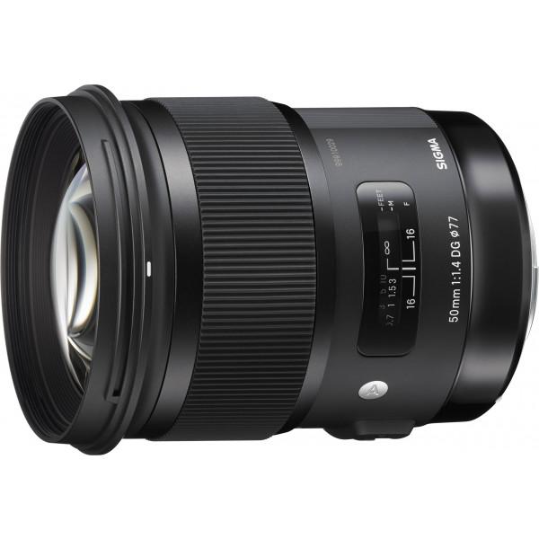 Sigma 50mm F1,4 DG HSM Objektiv (Filtergewinde 77mm) für Nikon Objektivbajonett schwarz-38