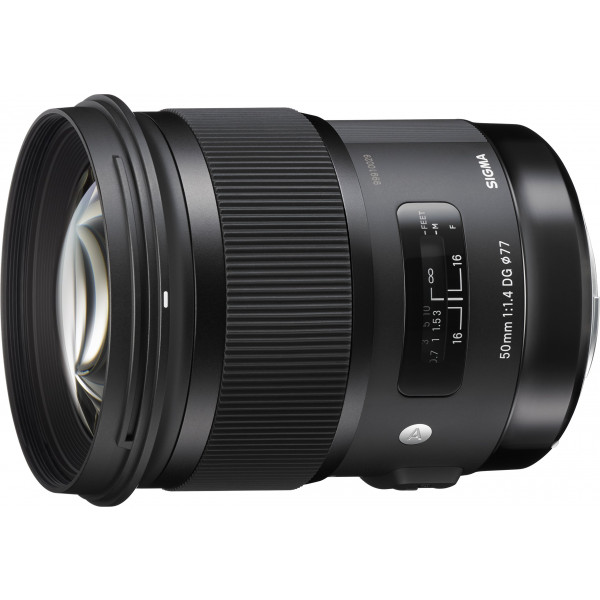 Sigma 50mm F1,4 DG HSM Objektiv (Filtergewinde 77mm) für Sigma Objektivbajonett schwarz-38
