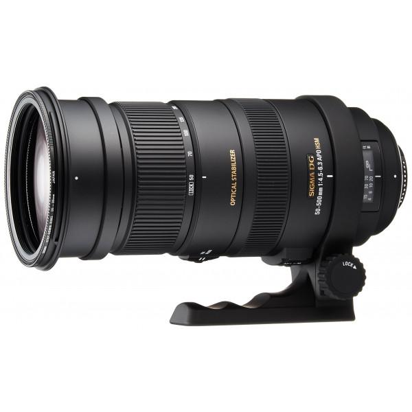 Sigma 50-500mm F4,5-6,3 DG OS HSM Objektiv (95mm Filtergewinde) für Nikon-36