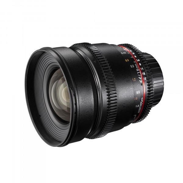 Walimex Pro 16mm 1:2,2 VCSC Video und Foto Weitwinkelobjektiv (Filtergewinde 77mm, Gegenlichtblende, Zahnkranz, stufenlose Blende und Fokus) für Sony E Objektivbajonett schwarz-34