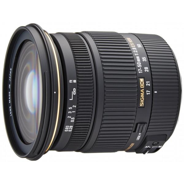 Sigma 17-50 mm F2,8 EX DC OS HSM-Objektiv (77 mm Filtergewinde) für Canon Objektivbajonett-34