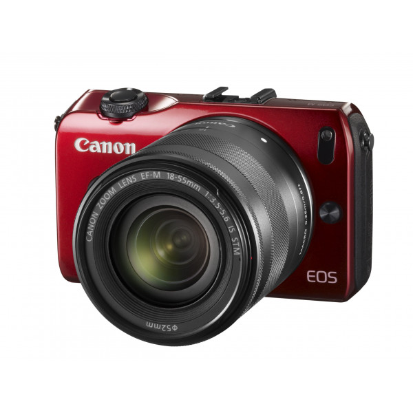 Canon EOS M kompakte Systemkamera (18 Megapixel, 7,6 cm (3 Zoll) Display, Full HD, Touch-Display) Kit inkl. EF-M 18-55mm 1:3,5-5,6 IS STM und Speedlite 90EX rot-37