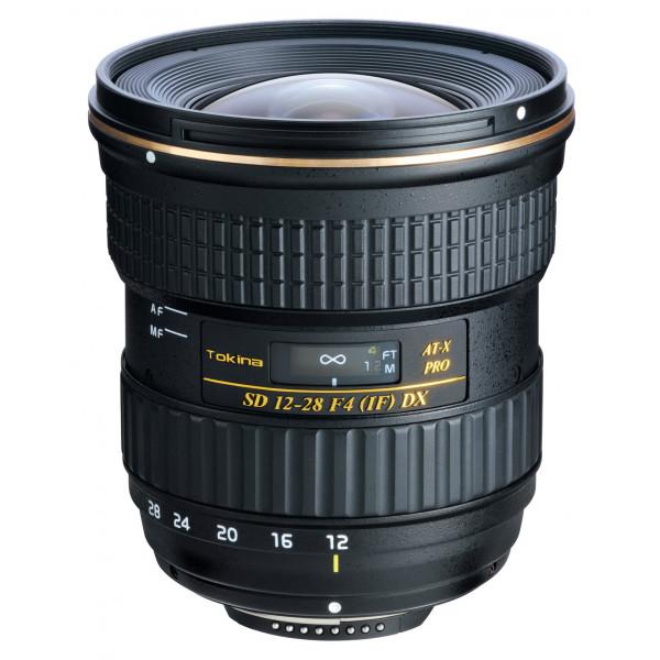 Tokina AT-X 12-28/4.0 Pro DX Objektiv (77 mm Filtergewinde) für Nikon Objektivbajonett-38