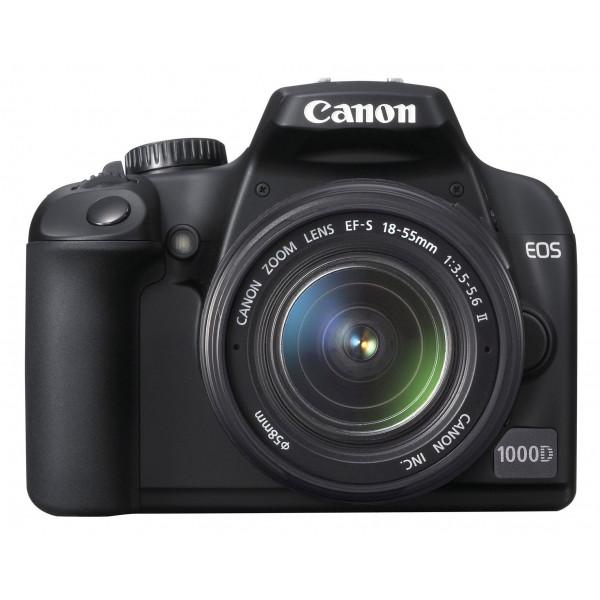 Canon EOS 1000D SLR-Digitalkamera (10 Megapixel, LiveView) Kit inkl. EF-S 18-55 Objektiv-36