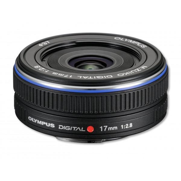 Olympus M.Zuiko Digital 17mm 1:2.8 Pancake Objektiv (37 mm Filtergewinde) schwarz-32