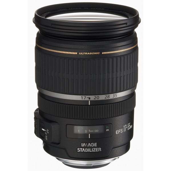 Canon EF-S 17-55mm 1:2,8 IS USM Objektiv (77 mm Filtergewinde, bildstabilisiert)-34