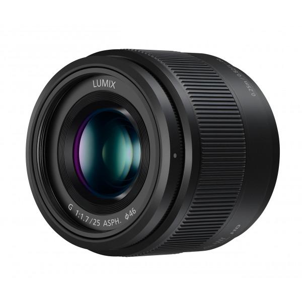 Panasonic H-H025E LUMIX G Festbrennweiten 25 mm F1.7 ASPH. Objektiv (Bildwinkel 47°, Filtergröße 46 mm, Naheinstellgrenze 0,25 m) schwarz-34