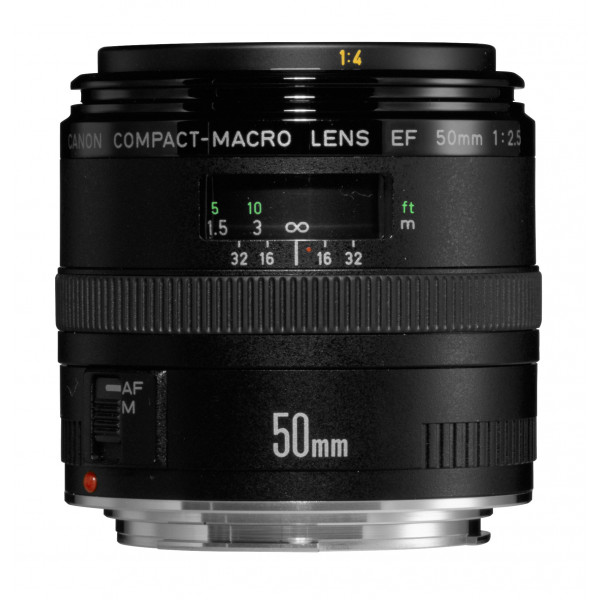 Canon EF 50mm/ 2,5/ Makro Objektiv (52 mm Filtergewinde)-32