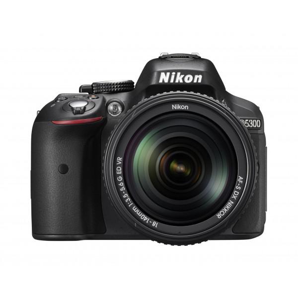 Nikon D5300 SLR-Digitalkamera (24,2 Megapixel, 8,1 cm (3,2 Zoll) LCD-Display, Full HD, HDMI, WiFi, GPS, AF-System mit 39 Messfeldern) Kit inkl. AF-S DX 18-140 VR Objektiv schwarz-39