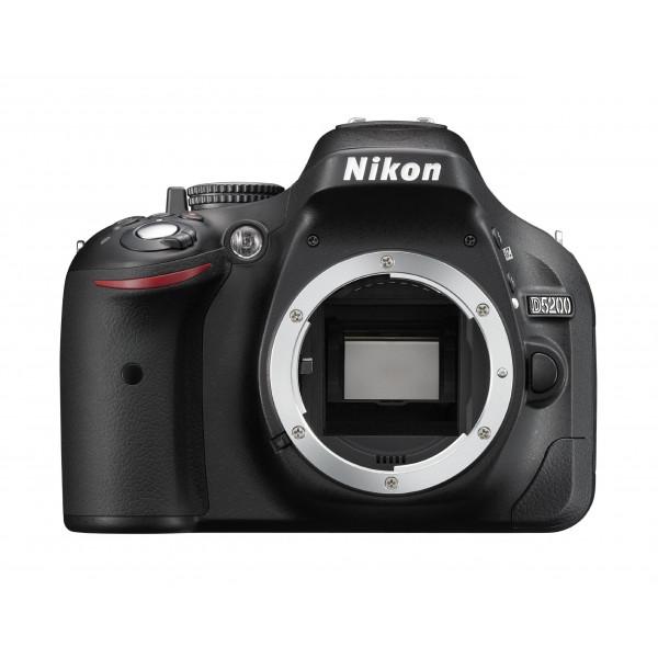 Nikon D5200 SLR-Digitalkamera (24,1 Megapixel, 7,6 cm (3 Zoll) TFT-Display, Full HD, HDMI) nur Gehäuse schwarz-38