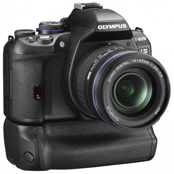 Olympus E-620 SLR-Digitalkamera (12 Megapixel, Bildstabilisator, Live View, Art Filter) Kit inkl. Batteriegriff and 14-42mm Objektiv-33