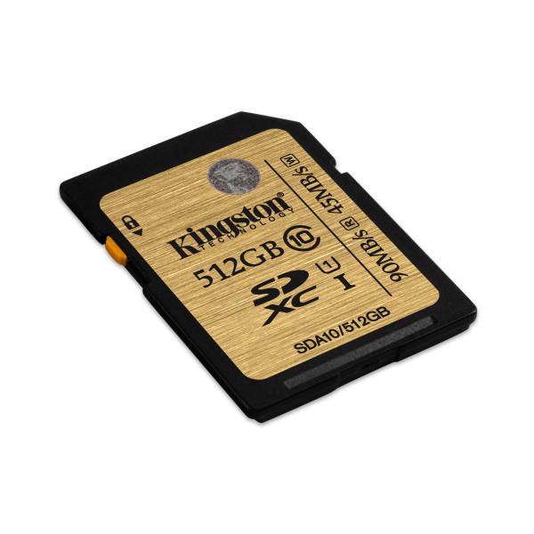 Kingston Profesional SDA10 SDHC 512GB Class 10 Speicherkarte-33