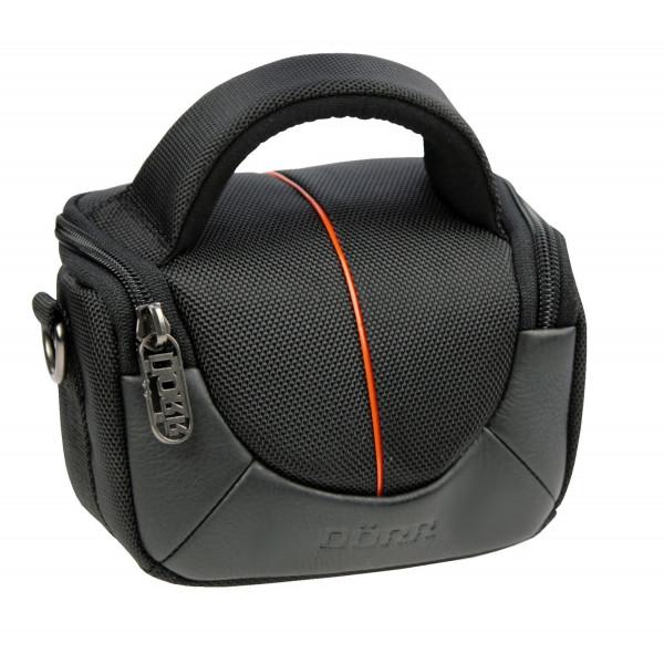 Dörr YUMA XS Fototasche für Systemkamera oder Camcorder schwarz/orange-35