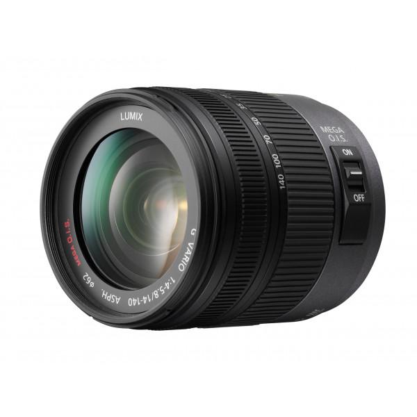 Panasonic H-VS014140E Superzoom-Objektiv Lumix G Vario F4.0-5.8/14-140 mm (62 mm Filtergewinde, bildstabilisiert) schwarz-33