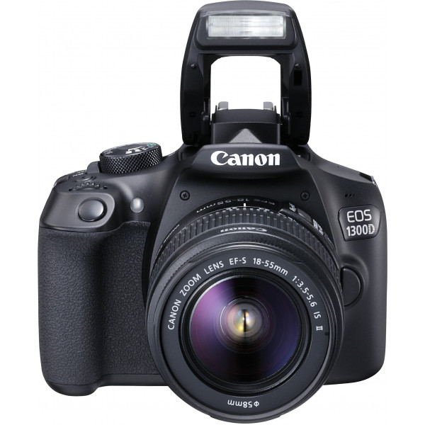 Canon EOS 1300D Digitale Spiegelreflexkamera (18 Megapixel, APS-C CMOS-Sensor, WLAN mit NFC, Full-HD) Kit inkl. EF-S 18-55mm IS Objektiv-314