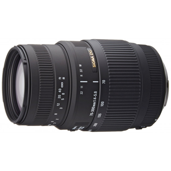 Sigma 70-300 mm F4,0-5,6 DG Makro-Objektiv (58 mm Filtergewinde) für Canon Objektivbajonett-36