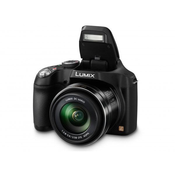 Panasonic LUMIX DMC-FZ72EG-K Premium-Bridgekamera (16,1 Megapixel, 60x opt. Zoom, 7,5 cm LC-Display, elektr. Sucher, Full HD Video) schwarz-34