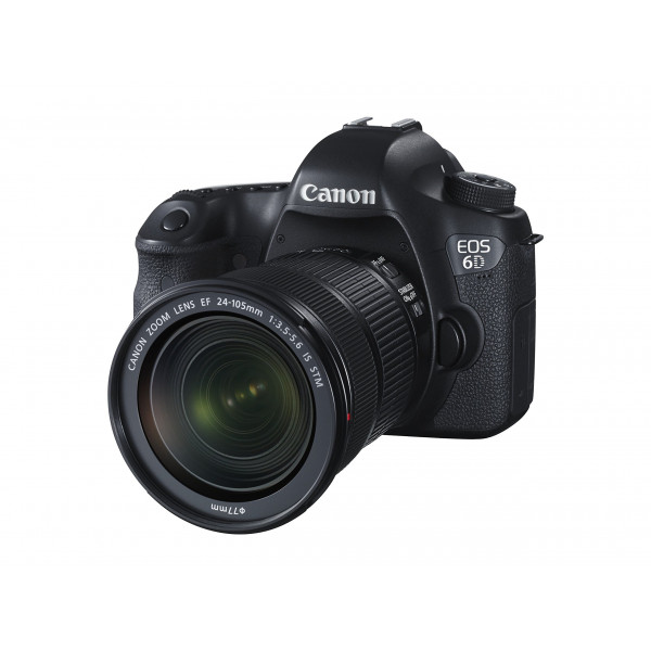 Canon EOS 6D SLR-Digitalkamera (20,2 Megapixel, CMOS-Vollformatsensor, 7,6 cm (3 Zoll) Display, Full-HD) Kit inkl. 24-105 mm IS STM, schwarz-310