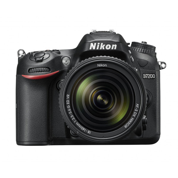 Nikon D7200 (24 Megapixel, 8 cm (3,2 Zoll) LCD-Display, Wi-Fi, NFC, Full-HD-Video) Kit inkl. AF-S DX Nikkor 18-140 mm 1:3,5-5,6G ED VR Objektiv-39