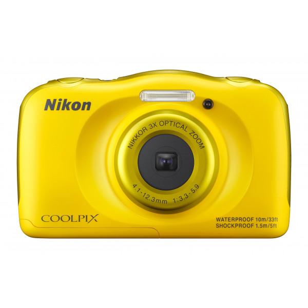 Nikon Coolpix S33 Digitalkamera (13,2 Megapixel, 3-fach opt. Zoom, 6,9 cm (2,7 Zoll) LCD-Display, USB 2.0, bildstabilisiert) gelb-36