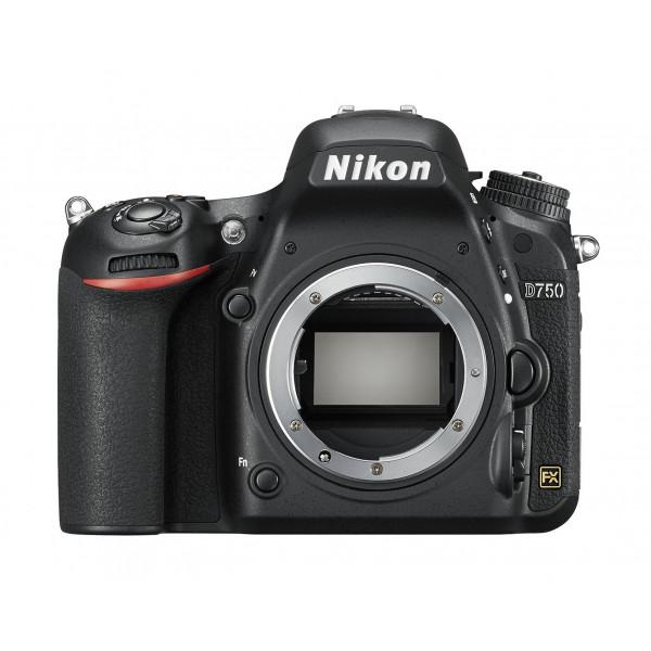 Nikon D750 SLR-Digitalkamera (24,3 Megapixel, 8,1 cm (3,2 Zoll) Display, HDMI, USB 2.0) nur Gehäuse schwarz-320