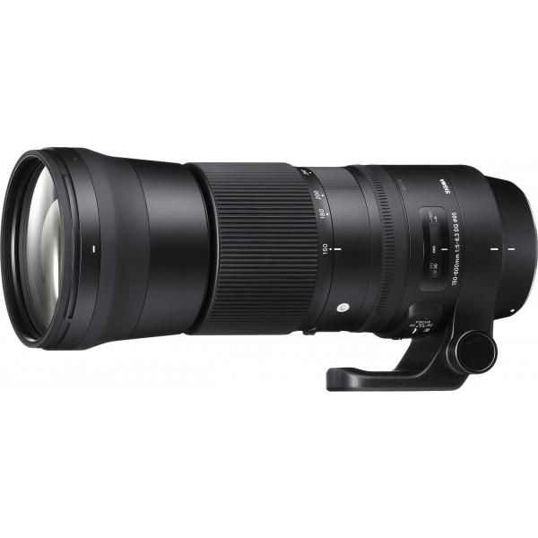 Sigma 150-600mm F5,0-6,3 DG OS HSM Contemporary (95mm Filtergewinde) für Canon Objektivbajonett-37