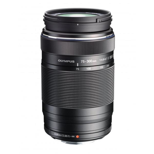 Olympus EZ-M7530 M.Zuiko Digital 75-300mm 1:4.8-6.7 Objektiv II (Micro Four Thirds, 58mm Filtergewinde) schwarz-36