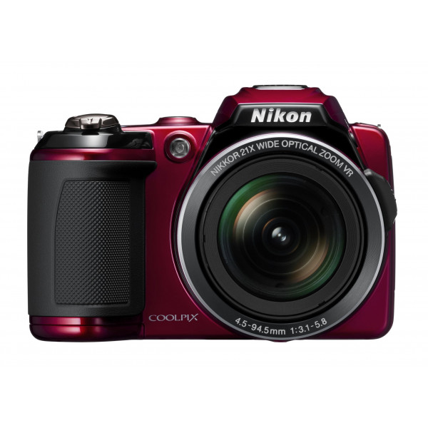 Nikon Coolpix L120 Digitalkamera (14 Megapixel, 21-fach opt. Zoom, 7,5 cm (3 Zoll) Display, HD Video, bildstabilisiert) rot-38