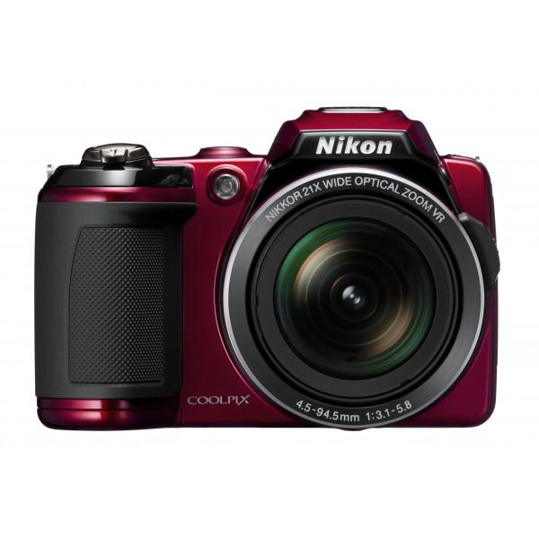 Nikon Coolpix L120 Digitalkamera (14 Megapixel, 21-fach opt. Zoom, 7,5 cm (3 Zoll) Display, HD Video, bildstabilisiert) rot-38