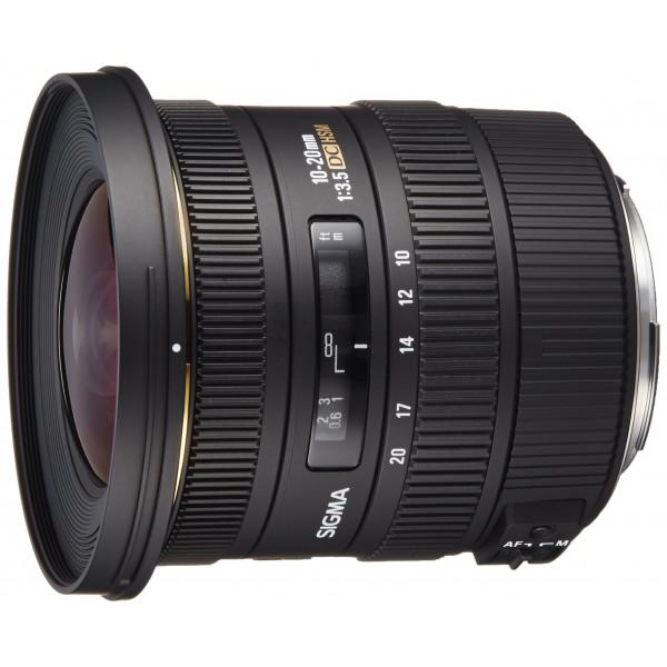 Sigma 10-20 mm F3,5 EX DC HSM-Objektiv (82 mm Filtergewinde) für Canon Objektivbajonett-34