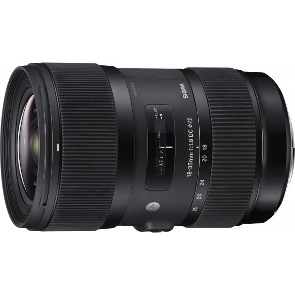 Sigma 18-35mm F1,8 DC HSM (Filtergewinde 72mm) für Canon Objektivbajonett schwarz-37