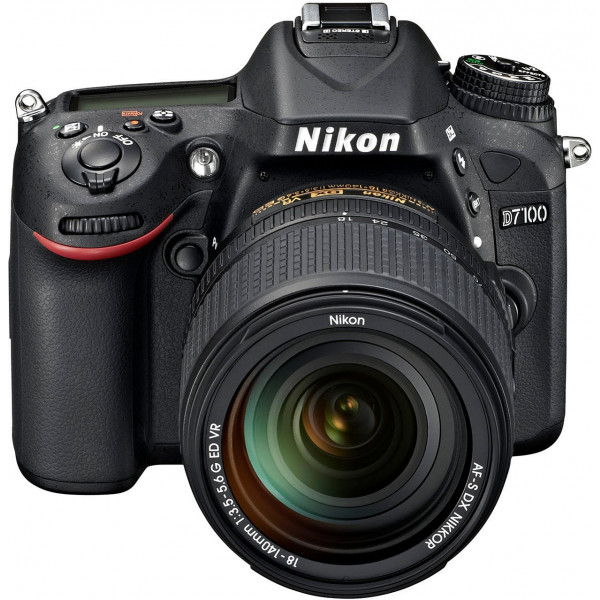 Nikon D7100 SLR-Digitalkamera (24 Megapixel, 7,8 fach opt. Zoom, 8 cm (3,2 Zoll) TFT-Monitor, Full-HD-Video) Kit inkl. Nikon AF-S DX 18-140 mm VR-Objektiv-32
