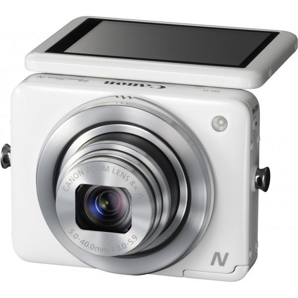 Canon PowerShot N Digitalkamera (12,1 Megapixel, 8-fach opt. Zoom, 7,1 cm (2,8 Zoll) Display, bildstabilisiert, DIGIC 5 mit iSAPS) weiß-323