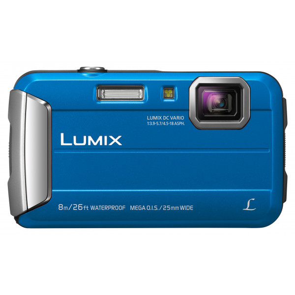 Panasonic LUMIX DMC-FT30EG-A Outdoor Kamera (16,1 Megapixel, 4x opt. Zoom, 2,6 Zoll LCD-Display, 220 MB interne Speicher, wasserdicht bis 8 m, USB) blau-34