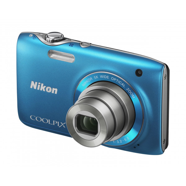 Nikon Coolpix S3100 Digitalkamera (14 Megapixel, 5-fach opt. Zoom, 6,7 cm (2,7 Zoll) Display, HD Video, bildstabilisiert) lagunenblau-37