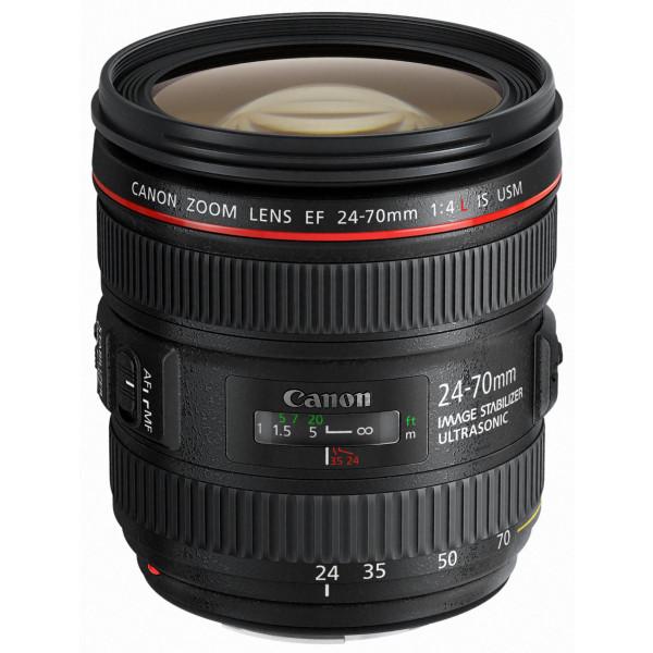 Canon Standardzoomobjektiv EF 24-70mm f/1:4L IS USM (77mm Filtergewinde) schwarz-37