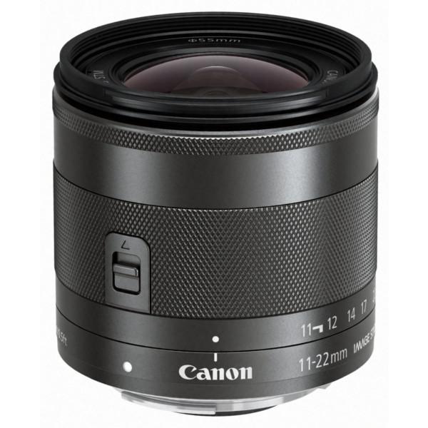 Canon EF-M 11-22mm f/4-5.6 IS STM (55mm Filtergewinde, Superweitwinkel-Zoomobjektiv) schwarz-34