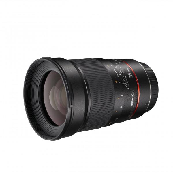 Walimex Pro 35/1,4 AE-Objektiv (inkl. Gegenlichtblende, Filtergewinde 77mm, IF, AS-Linsen) für Canon EF Objektivbajonett schwarz-36