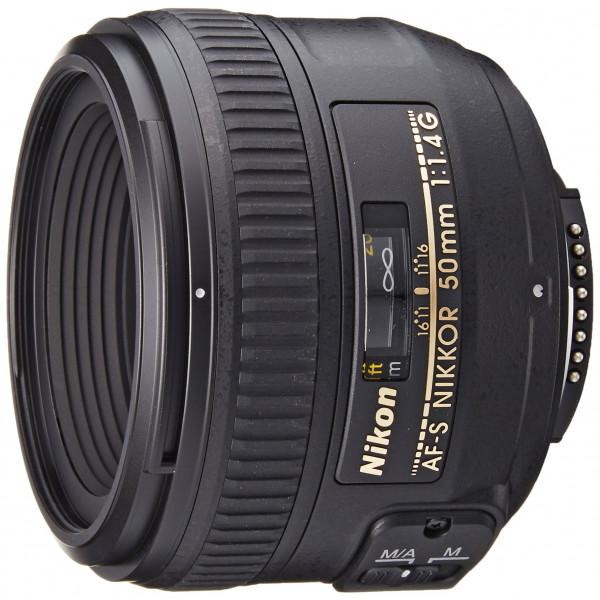 Nikon AF-S Nikkor 50mm 1:1,4G Objektiv (58mm Filtergewinde) schwarz-34